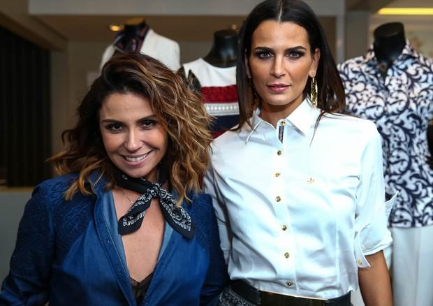 Giovanna Antonelli e Fernanda Motta (Foto: Raphael Castello/AgNews)