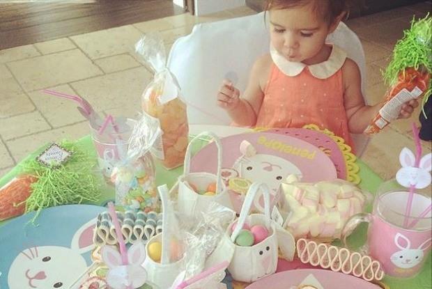 Decorao Pscoa Kardashian (Foto: Reproduo/ Instagram)