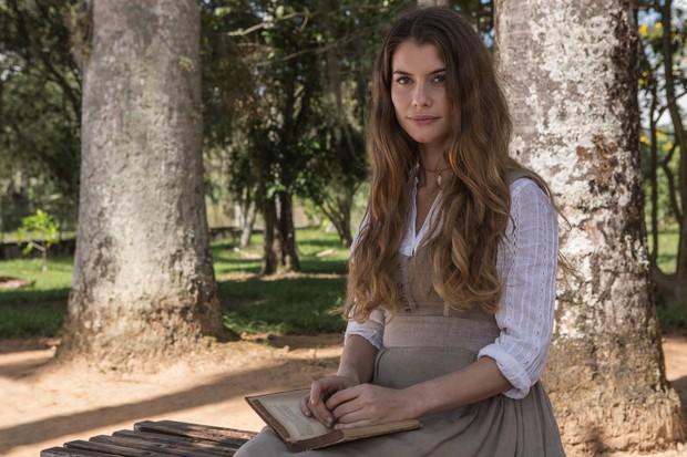 Alinne Moraes em Além do Tempo (Foto: Globo/ Fabio Rocha)