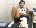 Em recuperação, Victor Ramos passa por tratamento na Toca do Leão