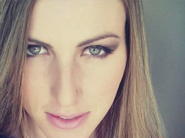 Modelo Aline Furlan foi achada morta em 31 de julho em Piracicaba (Foto: Reprodução/EPTV)