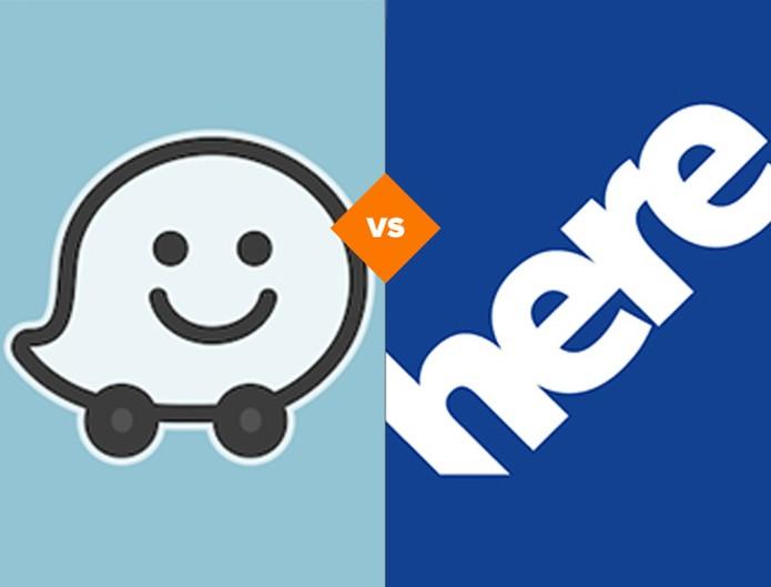 Comparativo: Here x Waze (Foto: Arte/TechTudo)