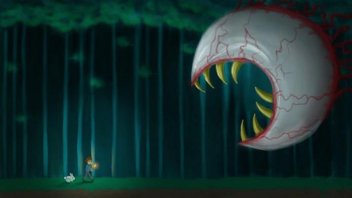 Terraria: Dicas para acabar com o chefe Eye of Cthulhu (Foto: Reprodução / terraria.com)