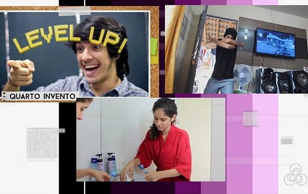 Jovens de Porto Velho fazem sucesso na internet produzindo vídeos (Foto: Rondônia TV)
