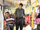 Pelo menos 1 pessoa é detida por dia em ônibus da Grande Vitória, diz PM