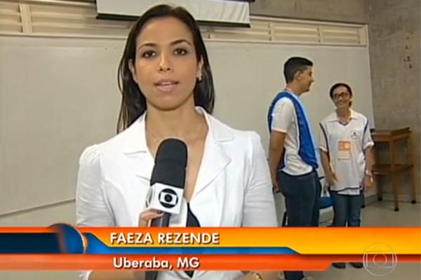 No dia da prova, em flagrante, policiais civis decretaram a fraude (Foto: Divulgação )