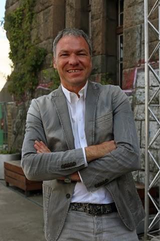 Olaf Schimdt, o organizador das feiras (Foto: Hermano Silva)