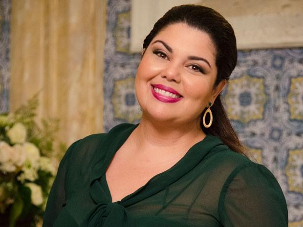 Fabiana Karla não vai se esquecer de Perséfone (Foto: Raphael Dias/TV Globo)