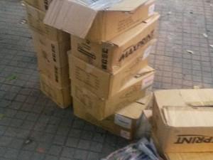 Material foi apreendido após uma denúncia anônima em Valadares. (Foto: reprodução/Polícia Militar)