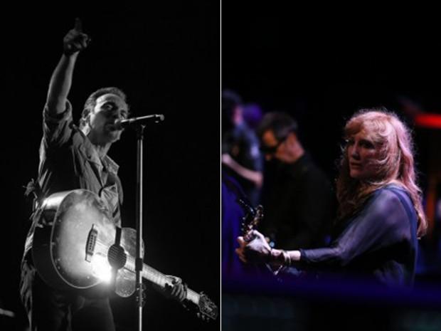 Bruce Springsteen e Patti Scialfa estão juntos desde 1991 (Foto: Divulgação)