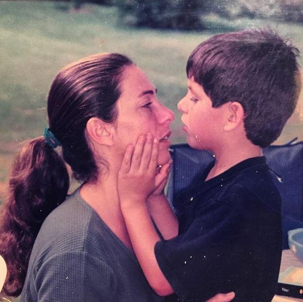 Cissa Guimarães e o filho, Rafael (Foto: Reprodução/Instagram)