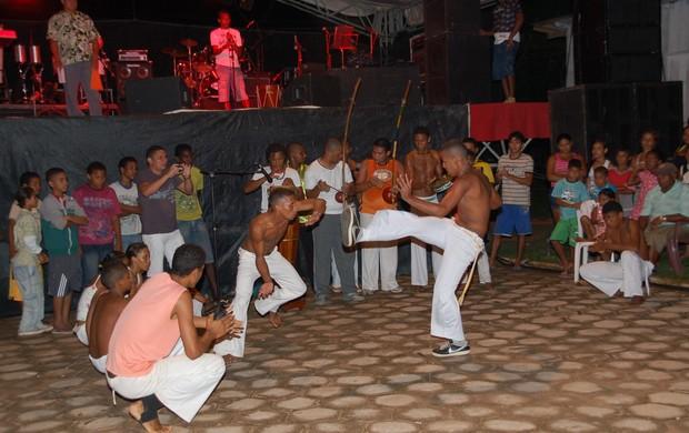 Amapá: projeto leva capoeira a crianças e adolescentes em risco social (Foto: Gabriel Penha/GE-AP)