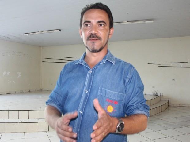 Professor Sidney Melo - PSOL MS (Foto: Fernando da Mata/G1 MS)