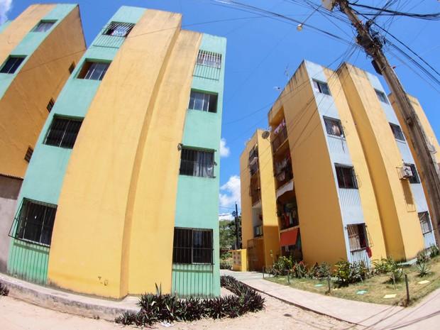 Caso aconteceu em condomínio em Cajueiro Seco, no Recife (Foto: Marlon Costa Lisboa/Pernambuco Press)