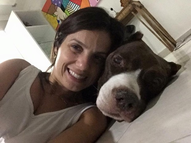 Skank faleceu pouco tempo após ganhar um vídeo produzido pela 'Pets Filmes' (Foto: Caroline Correa/Arquivo Pessoal)
