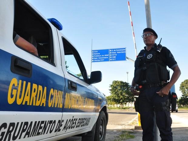 Objetivo é gerar mais segurança aos discentes, docentes e quem transita no local (Foto: Divulgação/Secom)