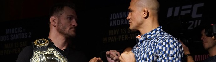 Stipe Miocic x Junior Cigano (Foto: Evelyn Rodrigues)