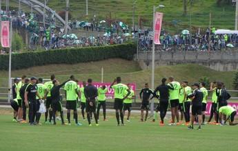 A dois dias da final, Atlético Nacional treina com o apoio de 3 mil torcedores