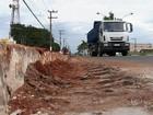 Obras em avenida tentam minimizar confusão no trânsito em Itapetininga