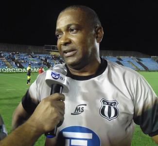 Gerson Evaristo destacou que vitória dará tranquilidade a seus jogadores (Foto: Wilkson Tarres/Globoesporte.com)