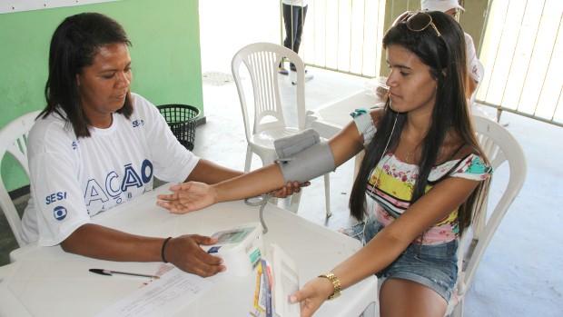 Ação GLobal Mulheres em Angra dos Reis (Foto: Divulgação/Paula Gabrielle)