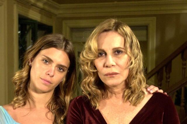 Carolina Dieckmann e Renata Sorrah em 'Senhora do destino' (Foto: João Miguel Júnior/ TV Globo)