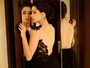 Olivia Torres, de 'O rebu', mostra seu lado sensual em ensaio de moda