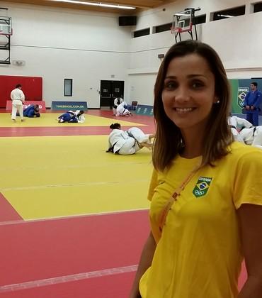 Roberta Lima nutricionista seleção brasileira judô (Foto: Raphael Andriolo)