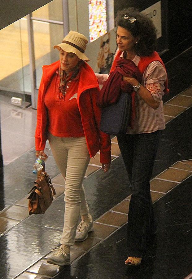 Christiane Torloni e  Simone (Foto: ag news)