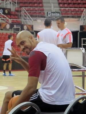 Marquinhos Flamengo basquete (Foto: Amanda Kestelman)