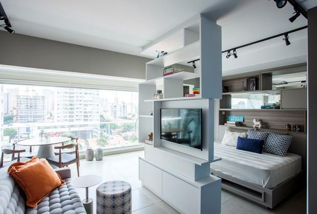 apartamento-varanda-integrada (Foto: Divulgação/Rafael Muner)