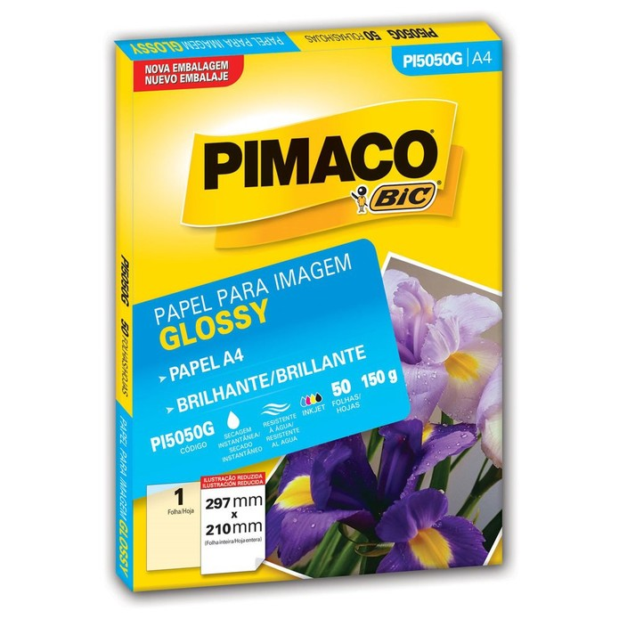 O ideal é investir em papel fotográfico, glossy ou matte (Foto: Divulgação/Bic)