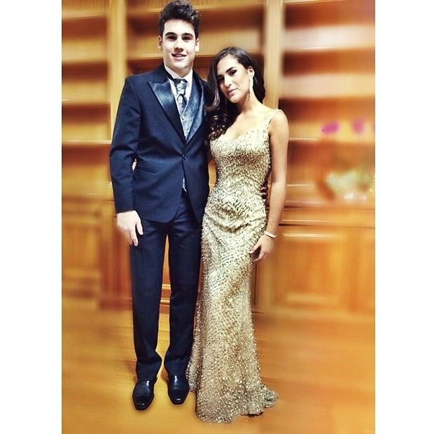 Nicolas Prattes e Livian Aragão (Foto: Instagram / Reprodução)