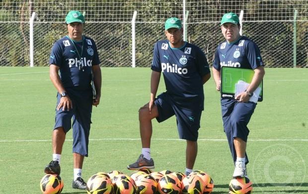 Enderson Moreira - técnico do Goiás (Foto: Rosiron Rodrigues / Goiás E.C.)