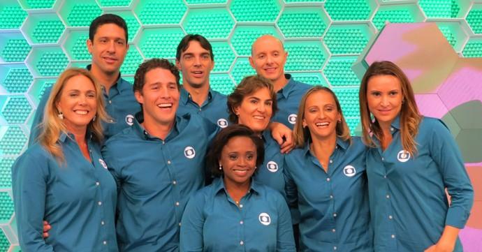 Comentaristas da TV Globo em 2016 (Foto: Daniel Cardoso)