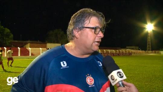 Luís Miguel quer 4 de Julho mais homogêneo após vitória sobre Altos