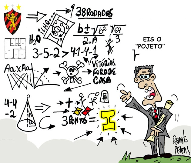 Luxa voltou - charge Peters