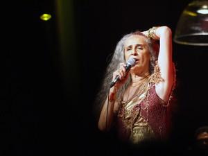 Artista se apresentou na noite desta sexta (28), no Teatro Castro Alves. (Foto: Egi Santana)