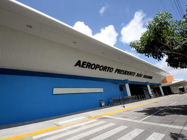 Aeroporto Presidente João Suassuna, em Campina Grande (Foto: Leonardo Silva/Jornal da Paraíba)