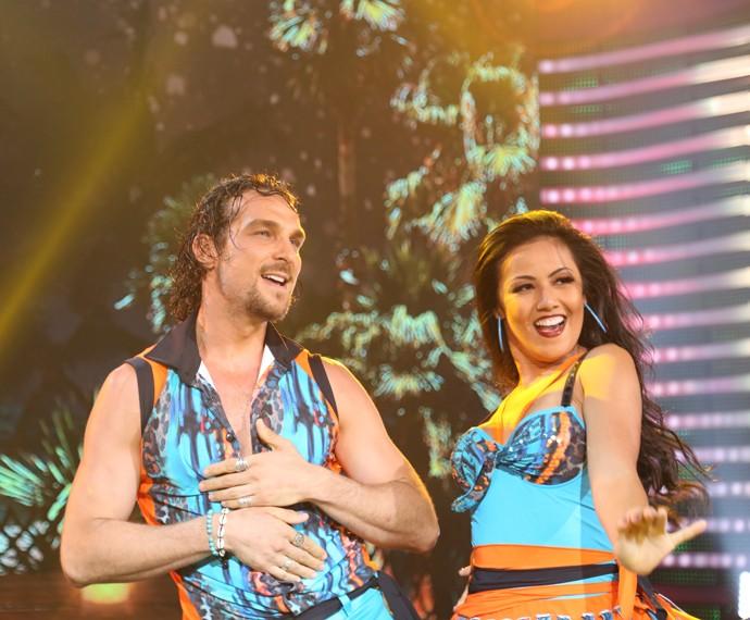 Igor e Suellem ganharam nota 10 da jurada Iara Jereissati (Foto: Carol Caminha/Gshow)