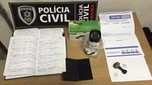 Vendedor é preso suspeito de golpe (DIvulgação/Polícia Civil)