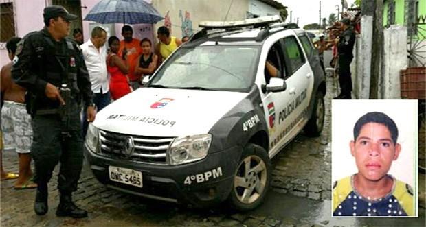 Crime aconteceu na comunidade da África, na Zona Norte de Natal (Foto: Sérgio Costa)