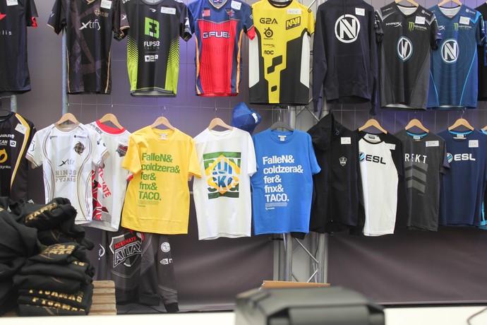 Merchandising ESL One CS:GO (Foto: Clicia Oliveira)