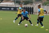 Grêmio volta com titulares na piscina e treino de reservas sem Yuri Mamute
