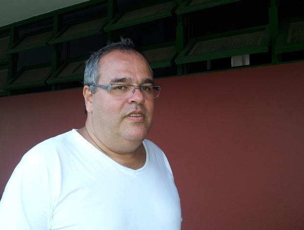 Tarcísio Malheiros, diretor de futebol do Rio Branco-ES (Foto: Bruno Marques/Globoesporte.com)