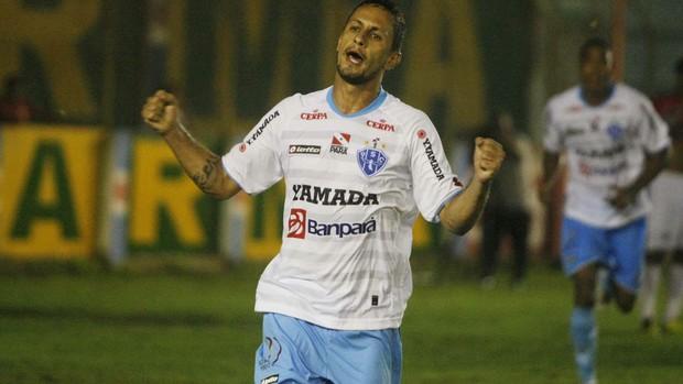 Eduardo Ramos marcou um dos gols na vitória do Papão (Foto: Marcelo Seabra/O Liberal)