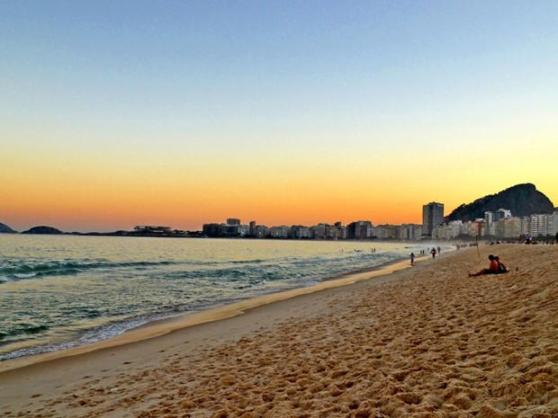 Praia De Copacabana No