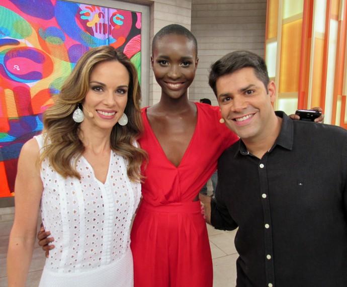 Mahany investiu na carreira de modelo depois de reportagem do Encontro (Foto: Priscilla Massena/Gshow)