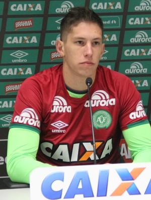 Arthur Maia, Follmann Chapecoense (Foto: Cleberson Silva/Chapecoense)