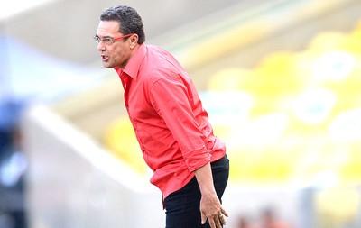 Vanderlei Luxemburgo, Flamengo X Coritiba (Foto: Alexandre Loureiro / Agência estado)